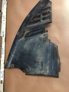 93-02 CAMARO Z28 LH AIR DAM FRONT CORNER DEFLECTOR DRIVER UNDER NOSE #5