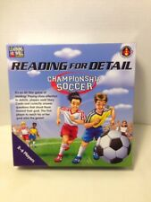 Soccer Reading for Detail Championship Game Learning Well Games  RL 3.5-5.0