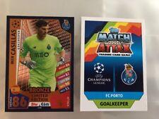 Match Attax Champions League 17/18 BRONZE LIMITED EDITION IKER CASILLAS CARD
