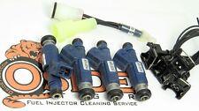 240cc Toyota Pickup 22re Fuel Injectors Plug & Play 4-Hole Spray! 1984-87 model