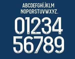PSG 2021-2022 Ligue 1 Home Football Shirt Nameset Any Name & Number