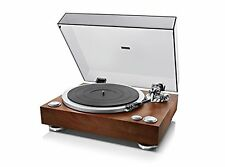 DENON Analogue record player wooden DP-500M Direct Drive Turntable F/S w/Track#
