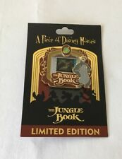 """PIECE OF DISNEY MOVIES COLLECTION PIN ~ """"THE JUNGLE BOOK"""" MOVIE CEL FRAME PIN"""
