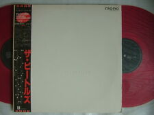 RED VINYL MONO / THE BEATLES WHITE ALBUM / 2LP WITH OBI COMPLETE