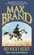 Red Rock's Secret by Brand, Max
