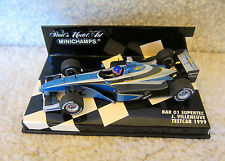 1999 TEST CAR F1 Formula1 JACQUES VILLENEUVE SUPERTEC  BAR ONE PAULS MODEL ART