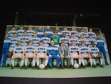 Queens Park Rangers FC cuadratura con respuesta parcial FC 1987-88 Team Inc Alan McDonald fotografía de prensa
