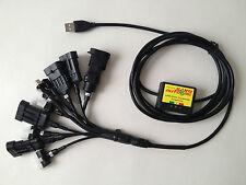 LPG Autogas USB Diagnose Interface Kabel 11x LOVATO ZAVOLI KME AUTRONIC AC