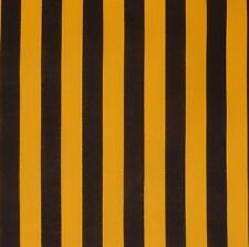 Black & Yellow Bumble Bee Stripe Cotton Fabric NEW!