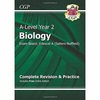 New 2015 A-Level Biology: Edexcel A Year 2 Complete Revision & Practice with Onl
