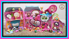 🌺Littlest Pet Shop Tail Waggin Fitness Center Playset LOT w/ Accessories & Pets