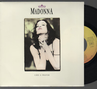 "Madonna Like A Prayer 45T 7"" Inch SP 45 Tours france french pressing 927 539-7"