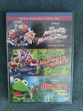 Triple Feature: Muppets take Manhattan, Muppets from Space, Kermit's Swamp Years