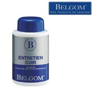 Belgom entretien cuir 250 ml nettoie nourrit imperméabilise et fait briller