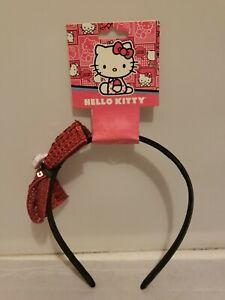 Hello Kitty By Sanrio Stylemark 10/2012 (New) Sequin Bow Headband