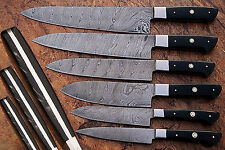 damascus Blade Kitchen knife 06 oc's set, 1071-H