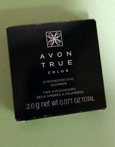 new Avon True Color Eyeshadow duo - warm cashmere