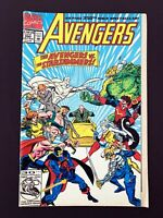 AVENGERS #350 MARVEL COMICS 1992 FN/VF DIRECT EDITION