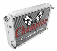 1979-1993 Ford/Mercury Cars - Champion High Quality 2 Row Full Aluminum Radiator
