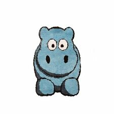 5 X Flair Hillary Hippo Childrens Rugs in Blue 60cm X 90cm (2ft X 3ft)