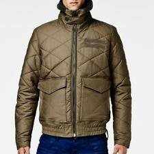 NWT $270 G-Star Raw Aviator Quilted Bomber Magma Sz Small
