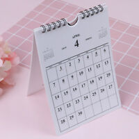 Oct 2018 - Dec 2019 desk-top flip calendar month stand up office home plannerBHQ