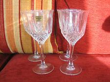 SET OF FOUR LUMINARC WINE GLASSES - APPEAR UNUSED