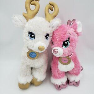 "My Little Pony Build A Bear Rare Winter Christmas  Glisten 17"" Twinkle 14"" BABW"
