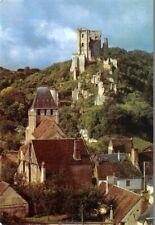 """LAVARDIN  - La Vallée du Loir - L""""église romane et le château"""