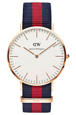 Daniel Wellington 0101DW Classic NATO Oxford Men's Watch Dw00100001