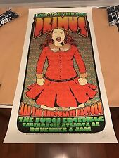 Chuck Sperry Widespread Panic Art Poster Print Primus Atlanta SILVER VARIANT!