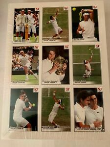 """ Rare "" Federer Contre Nadal 2008 Wimbledon Greatest Match Hommage 9 Carte"