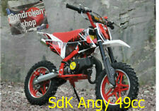 Minimoto Cross SDK ANGY-49cc Gennaio 2019 pit bike 2 tempi red rossa