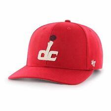 Washington Wizards 47 Brand Mens NBA MVP Strapback Hat- Red