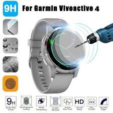 3PCS Full Cover Film Tempered Glass Screen Protector For Garmin Vivoactive 4