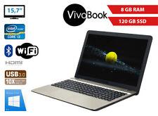 Asus VivoBook F541U i3 6006U 8GB/120GB SSD 15,7 Zoll Full HD HDMI KAM