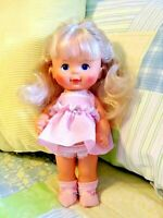 "Vintage 1980 12"" Ideal ""Pretty Curls Doll"" So Cute - Hair is ready to be styled!"