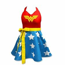 WONDER WOMAN - FASHION APRON - BRAND NEW - ONE SIZE FITS ALL - 16147