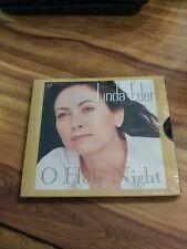 LINDA EDER O Holy Night LIMITED CHRISTMAS TRK PROMO Radio CD Single 1997 new