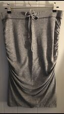Women's Splendid Grey Ruched Skirt Sz. L NWT!