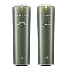 Nature Republic Snail Solution Skin Booster Emulsion Package Intensive Skin Care