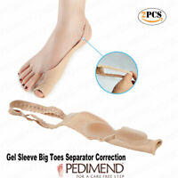 2PCS OF Silicone Gel Hallux Valgus Pro Toe Separator by Pedimend - Foot Care