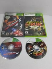 Need for Speed Xbox 360 LOT: The Run & Hot Pursuit Tested