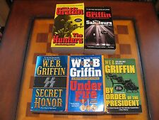 5 W.E.B. Griffin-The Hunters-The Saboteurs-Secret Honor-Under Fire-By Order of
