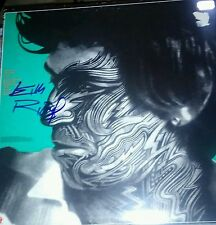 KEITH RICHARDS ROLLING STONES BEAUTIFULLY AUTOGRAPHED TATTOO YOU! PHOTOS PROOF!