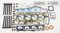 HEAD GASKET SET BOLTS ASTRA MERIVA VECTRA ZAFIRA 1.6 03 on TWIN PORT Z16XEP VRS