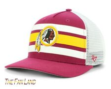 pretty nice 0f175 0c8bd New NFL Washington Redskins  47 Team Stripe MVP Mens Trucker Cap Hat