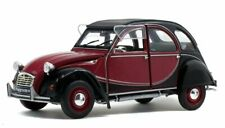 1982 CITROEN 2cv6 Charleston Rojo-negro 1 18 Solido S1805013