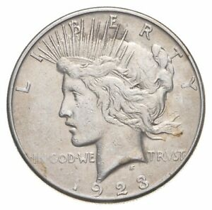1923-S Peace Silver Dollar - US Coin *551