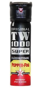 Pfefferspray TW1000 75 ml/Strahl mit Flip Top,Tierabwehrgerät,Hoernecke,Strahl